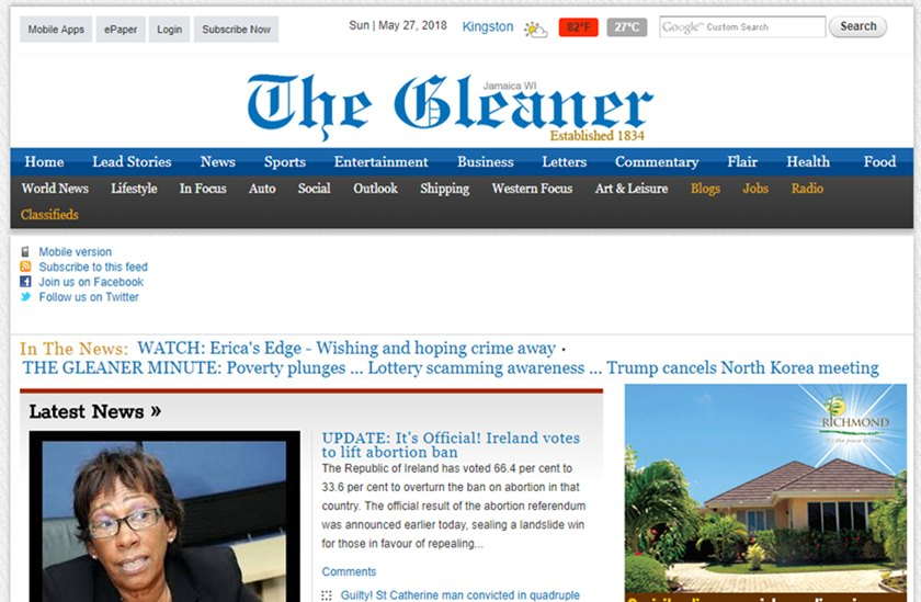 Digital Arm of Jamaican Newspaper 'The Gleaner' Provides Free Starter Packages to 50 Small Businesses