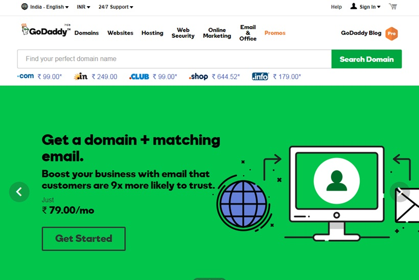 Web Host and Domain Provider GoDaddy Appoints New Vice President and Managing Director for India