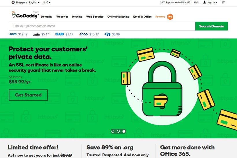 Web Host GoDaddy Agrees to Sell 'PlusServer'