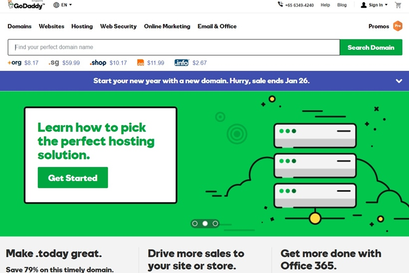 Web Host and Domain Name Provider GoDaddy Integrates Website Builder with Google My Business