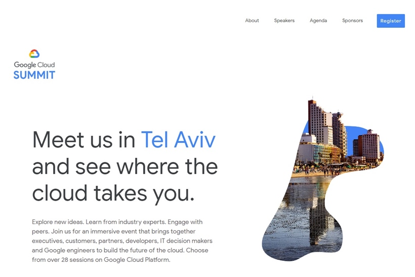 Google Cloud Summit in Tel Aviv Takes Place May 30, 2018