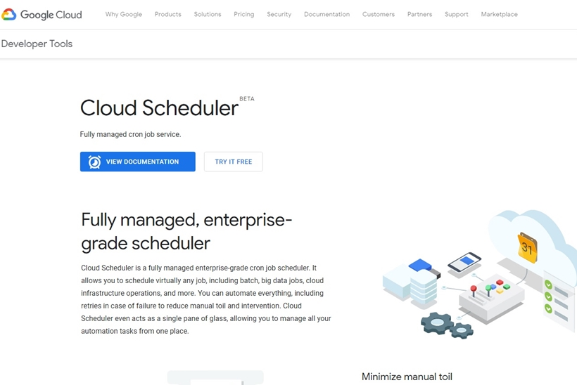 Cloud Giant Google Launches Google Cloud Scheduler