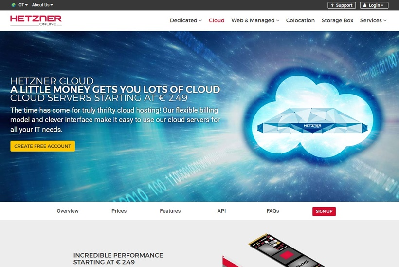 Web Host and Data Center Operator Hetzner Online Expands Product Line
