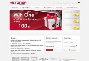 web hosting news web hosting provider hetzner online is pc welt 39 s brand of the year 2014. Black Bedroom Furniture Sets. Home Design Ideas