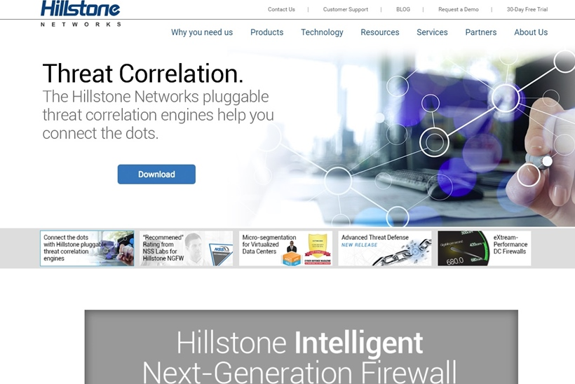Web Hosting News Security Solutions Provider Hillstone Networks