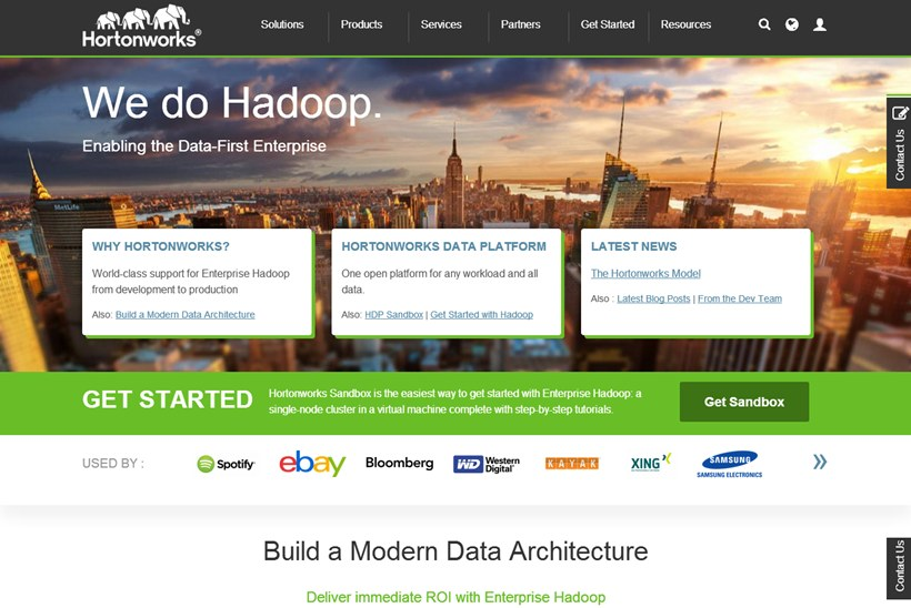 Web Hosting News - Hortonworks' Hadoop Data Platform (HDP) Becomes