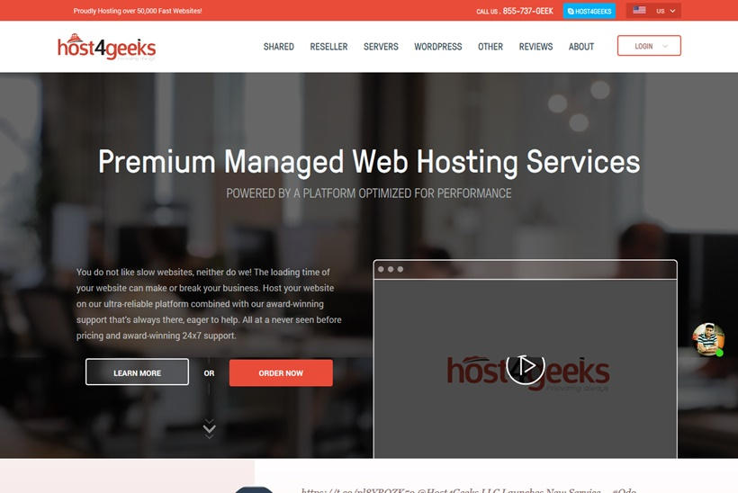 Web Host Host4Geeks Launches and Expands Odoo Hosting