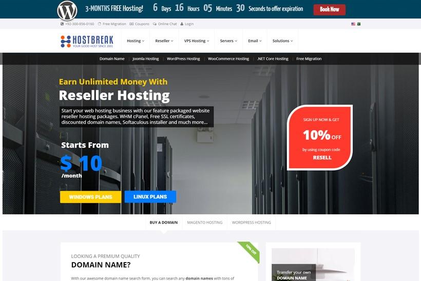 Web Host Hostbreak Now Offers Optimized WordPress Hosting from Just $2.95 Per Month
