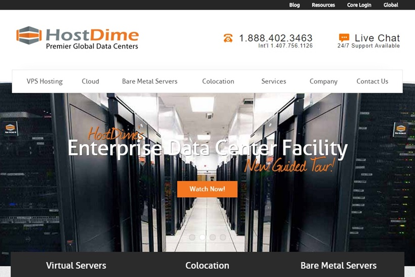 Managed Cloud Hosting Services Provider HostDime Announces Opening of New Data Center in Brazil