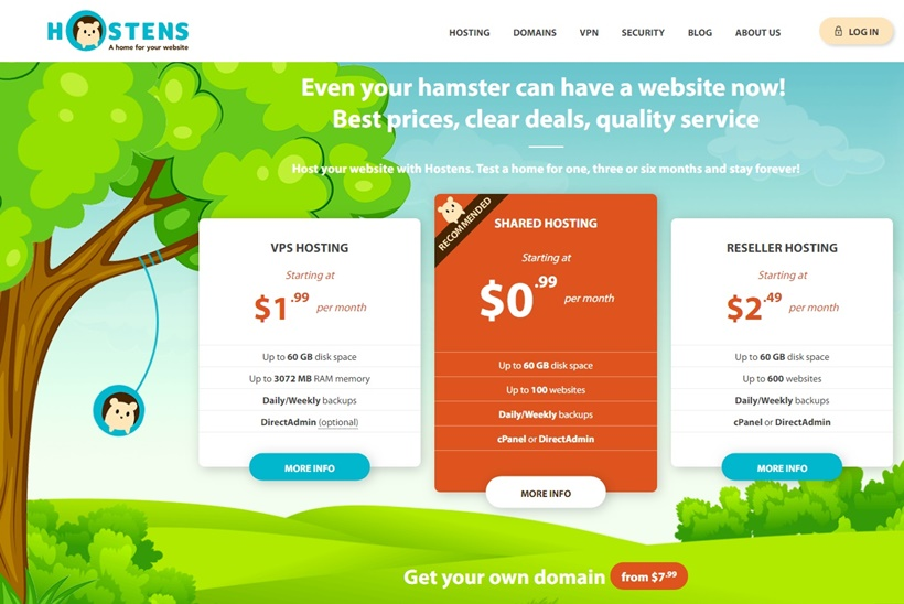 Web Host and VPS Services Provider Hostens Announces Launch of New VPN Service