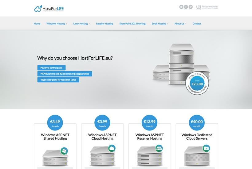 Web Hosting News - European Provider HostForLIFE eu Makes