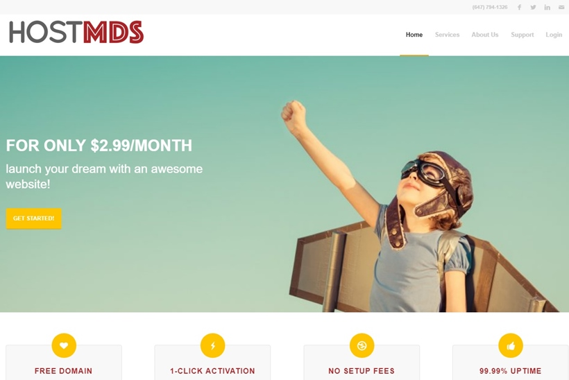 Canadian Hosting Company HostMDS Announces New Web Hosting Options