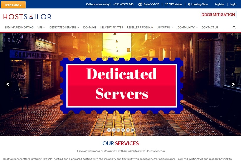 Web Host HostSailor Protects VPS and Dedicated Servers in Romania from DDoS Attacks
