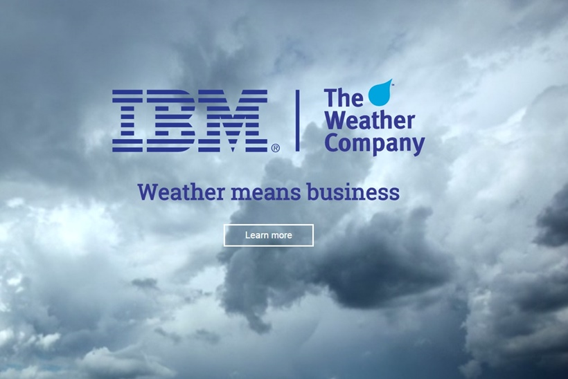 Web Hosting News - Big Blue Seals Weather Company Deal
