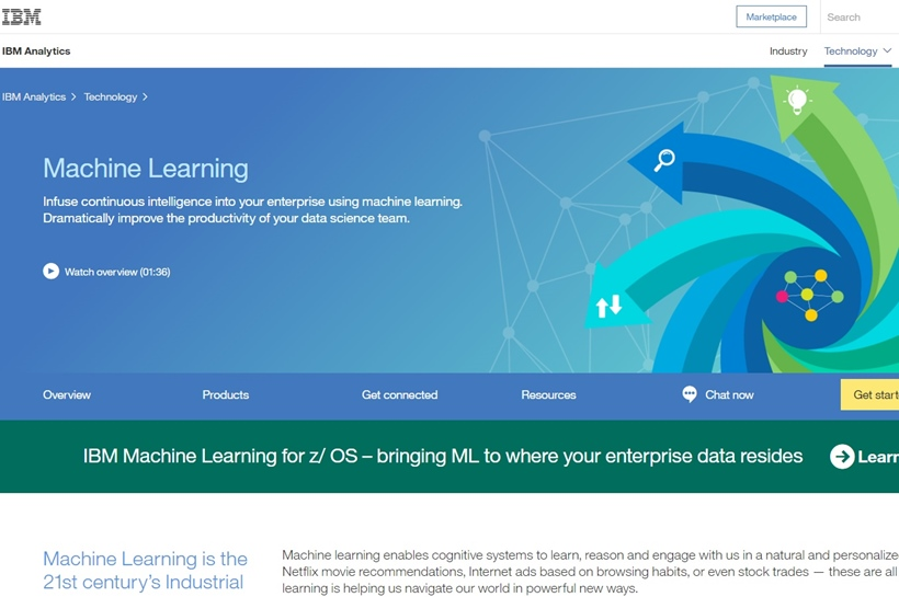 Cloud Giant Big Blue Announces Launch of IBM Machine Learning