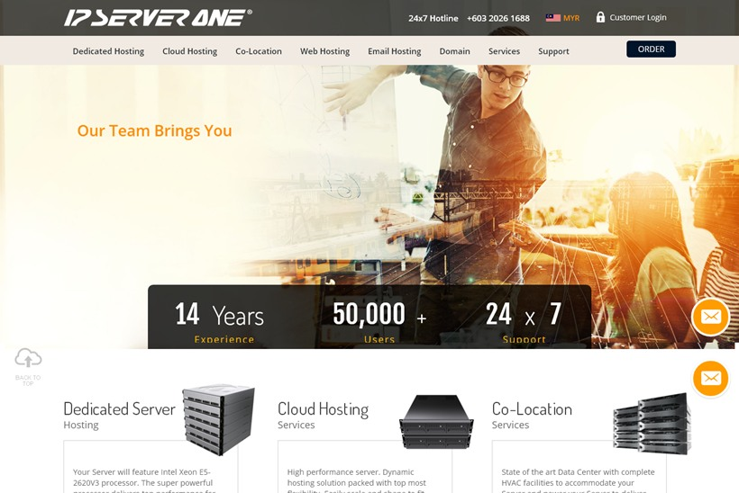 Malaysian Web Host IP ServerOne Launches New Data Center