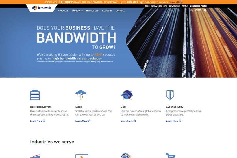 Global Hosting Services Provider Leaseweb Makes Data Center Services Available to iGaming Companies