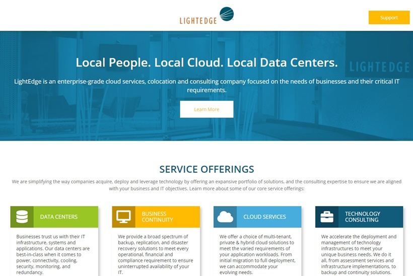 Data Center Services and Colocation Provider LightEdge Acquires Cloud and Colocation Company OnRamp