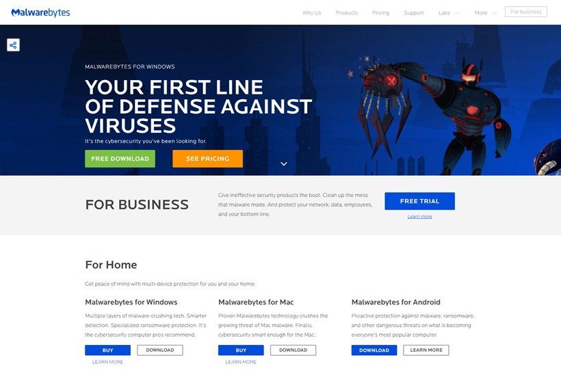 Security Company Malwarebytes Acquires ERP and On-premise Application Platform Solutions Provider Binisoft
