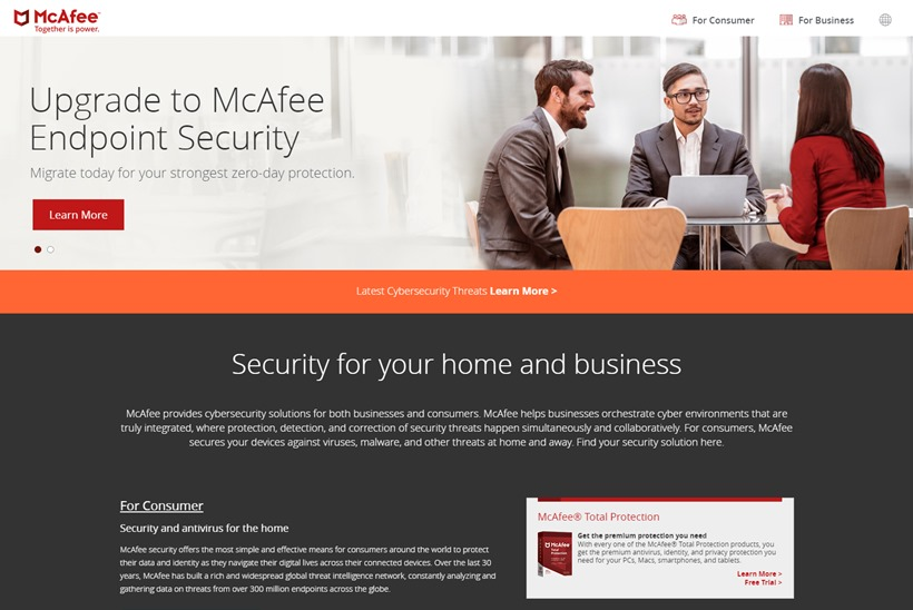 Web Hosting News - Security Software Company McAfee Extends