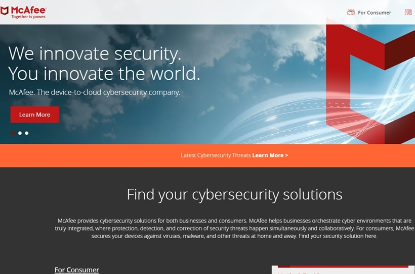 Device-to-cloud Cybersecurity Company McAfee Suggests 25% of Organizations Had Data Stolen from the Public Cloud