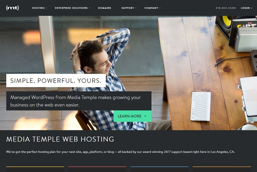 Web and Cloud Hosting Solutions Provider Media Temple Enhances Managed WordPress Hosting
