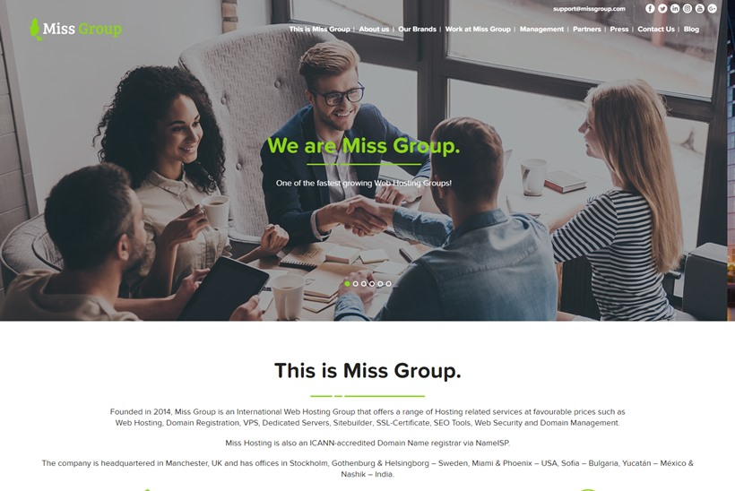UK's Miss Group Receives £13 Million Investment
