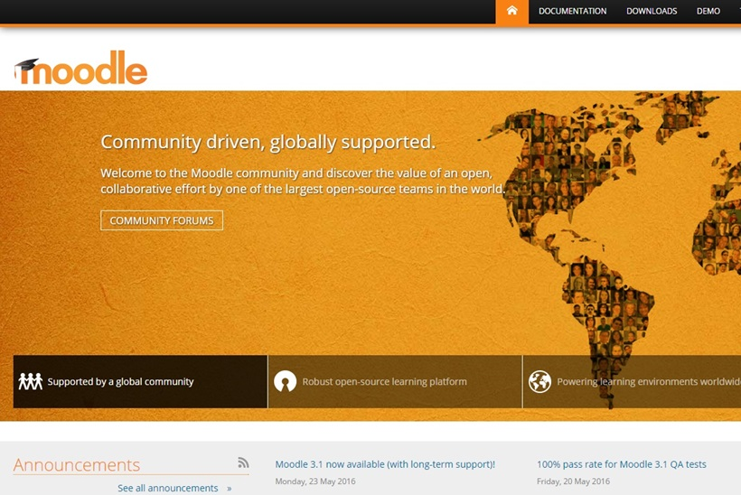 New Version of the Moodle Open Source Learning Platform Released