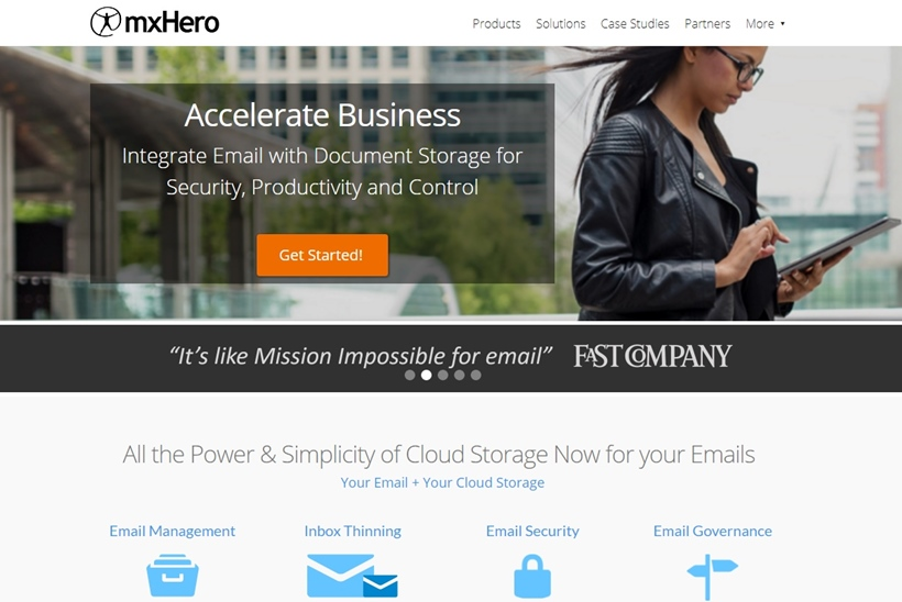 Cloud and Hybrid Provider MxHero Now Integrates Directly to MS Outlook
