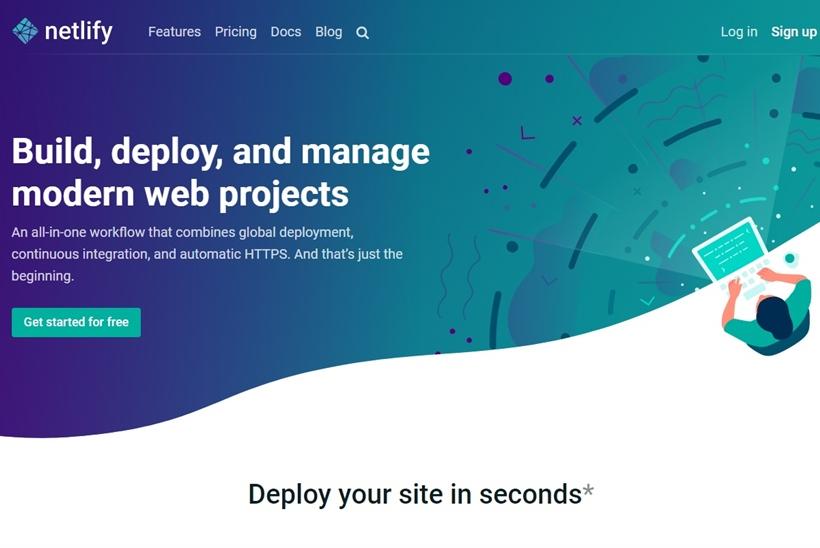 Web Hosting News - PaaS Provider Netlify Receives $30 Million Investment