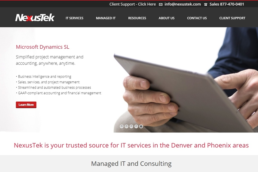 IT Services Provider NexusTek Acquires Business Units from Cloud Host Zumasys