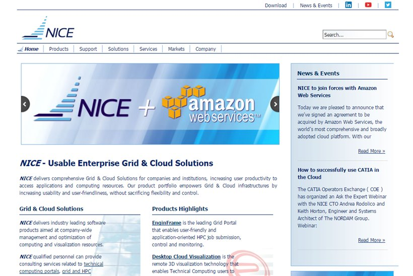 Cloud Giant Amazon Web Services To Acquire Italian Cloud Computing Provider  NICE