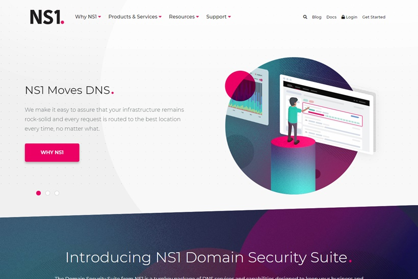 DNS and Traffic Management Solution Provider NS1 Launches Domain Security Suite