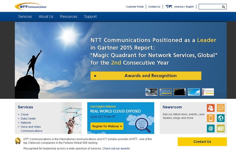 Jeffrey Bannister Joins Information and Communications Technology Company NTT America