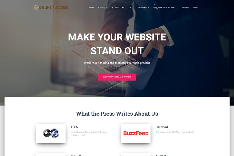 UK Provider OnlineSuccess.Site Announces Launch Hosting with 'Instant Sales Funnel Support'