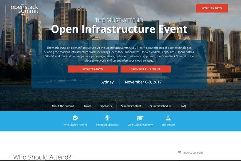 Sydney, Australia to Host Major Open Source Cloud Computing Summit