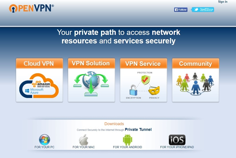 Networking and Software Technologies Provider OpenVPN Makes OpenVPN Access Server Solution Available in the Microsoft Azure Marketplace