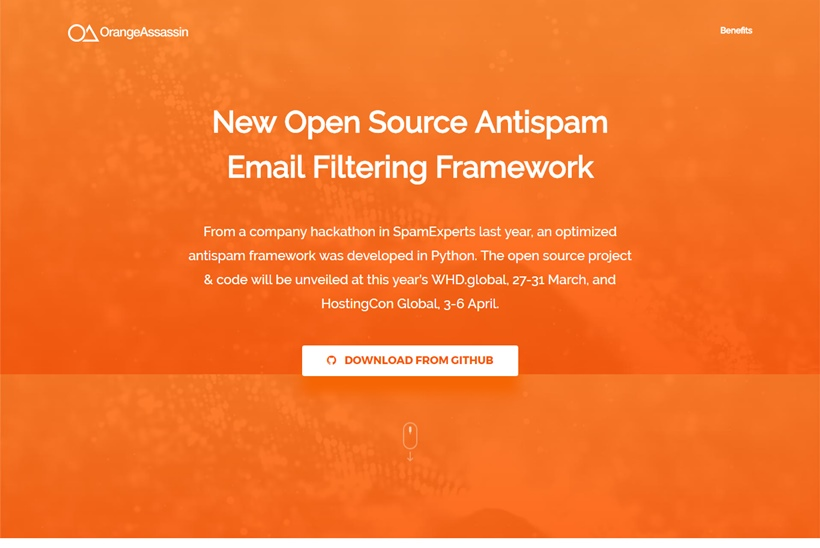 Email Security Company SpamExperts Releases New Open Source Antispam Email Filtering Framework