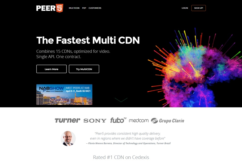 Serverless CDN Technology Provider Peer5 Launches New Service for Higher Quality Streams