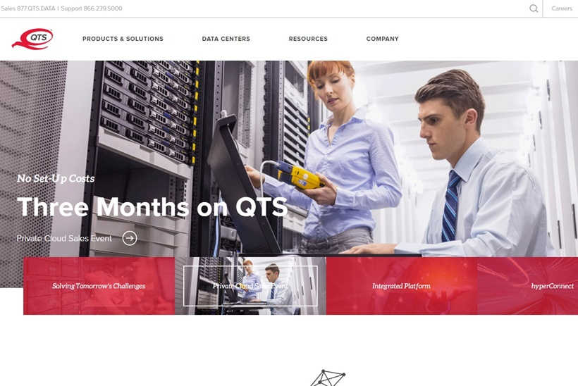 Data Center, Cloud and Managed Services Provider QTS Acquires Data Center in Fort Worth