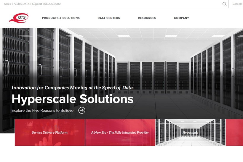 Data Center, Cloud and Managed Hosting Services Provider QTS Announces New PacketFabric-powered Platform