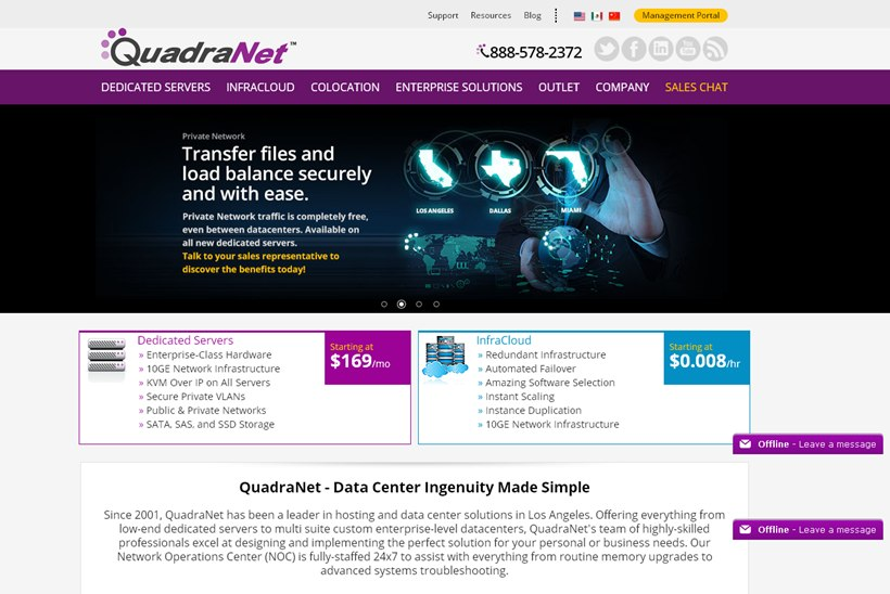 Complex Hosting Solutions Provider QuadraNet Launches Automated Licensing Module