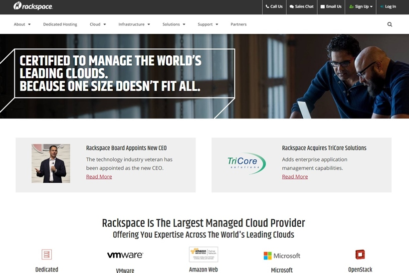 Managed Cloud Company Rackspace Names David Meredith President of Private Cloud and Managed Hosting