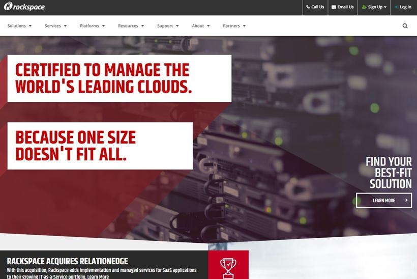 Managed Cloud Company Rackspace Announces Colocation Through Channel Partners