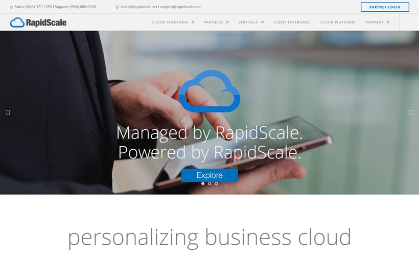 Managed Cloud Services Provider RapidScale Extends Partnership with Data Management Company Veeam