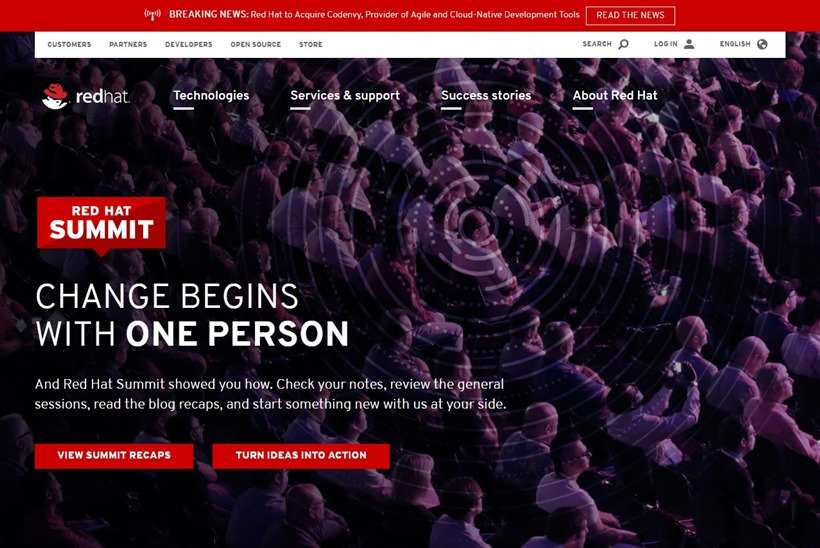 Open Source Solutions Provider Red Hat to Acquire Cloud-Native Development Tools Provider Codenvy