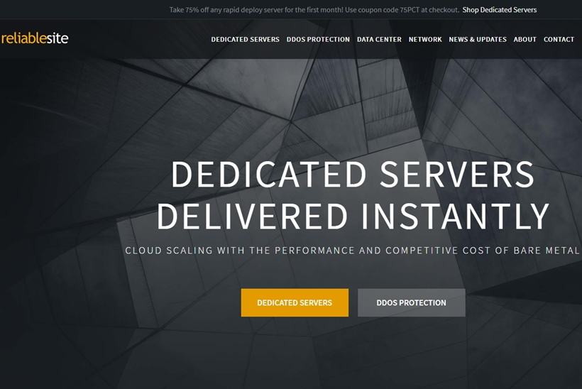 Dedicated Hosting Provider ReliableSite Now Allows Bitcoin Cash Payments for Dedicated Server Hosting Options