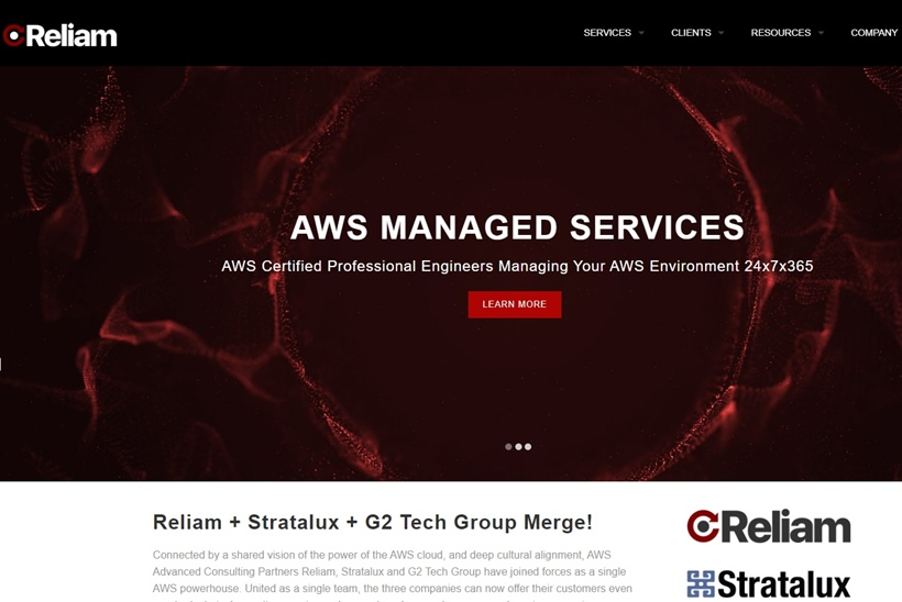 Managed Service Provider Reliam Acquires G2 Tech Group