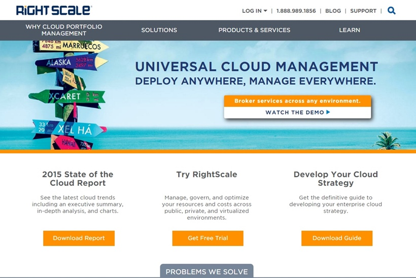 Universal Cloud Management Company RightScale Announces Launch of Cloud Comparison Tool