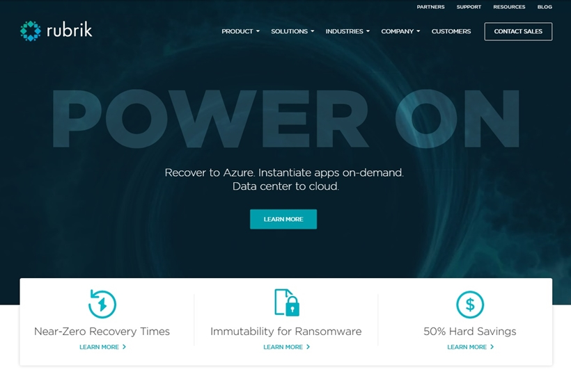Cloud Data Management Provider Rubrik Announces Launch of Microsoft Azure-based Service